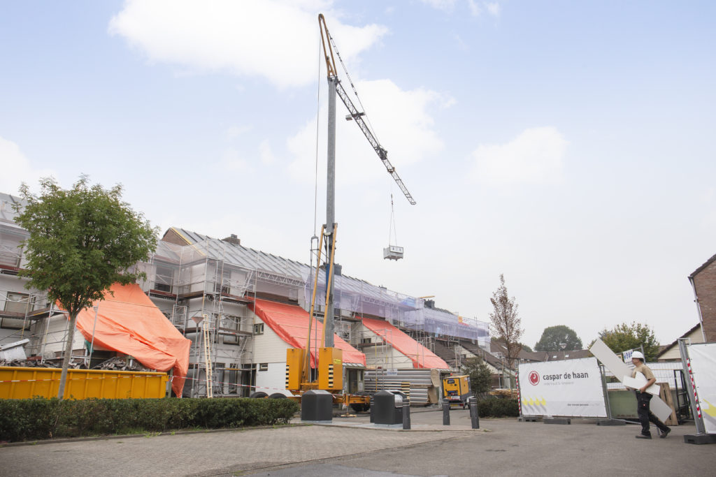 Pionieren met renovaties in Limburg