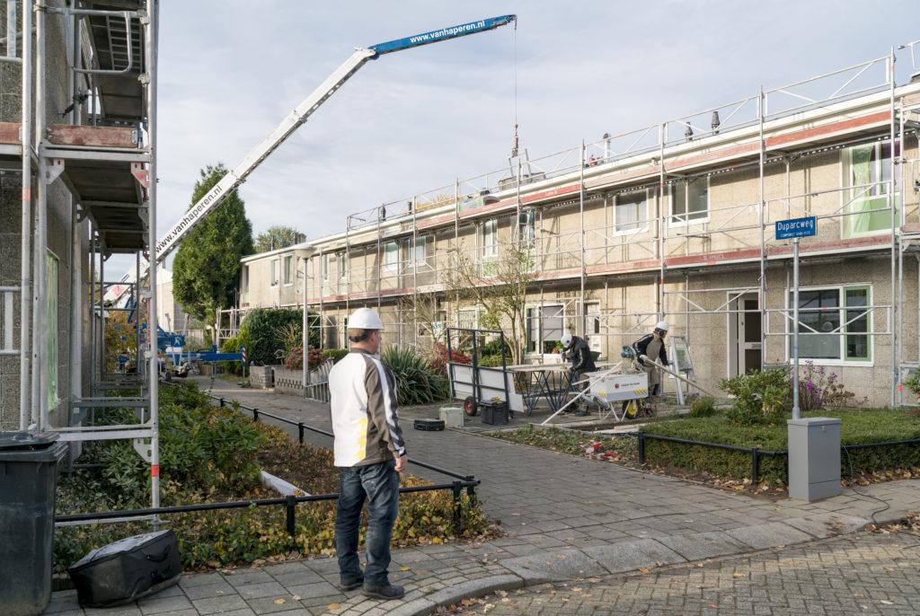 Duurzame renovatie van Airey-woningen volgens TNS