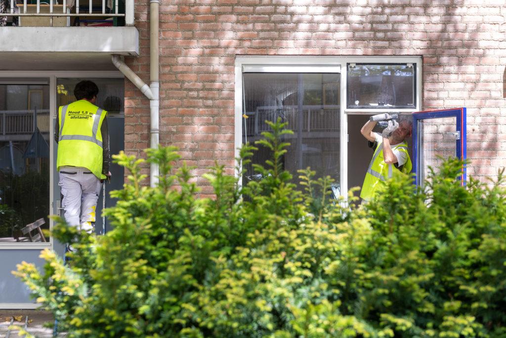 Renovatie Korvelplein alsnog in volle gang